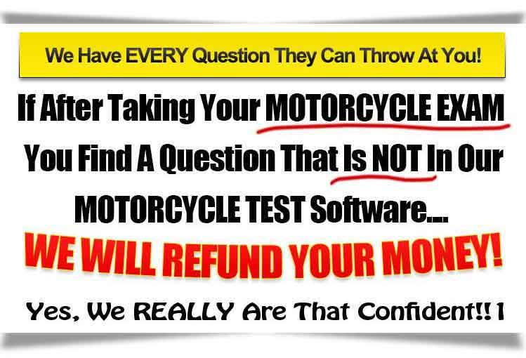 Every Motorcyclr Test Question