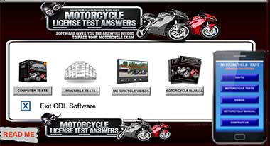 Motorcycle Start Menu